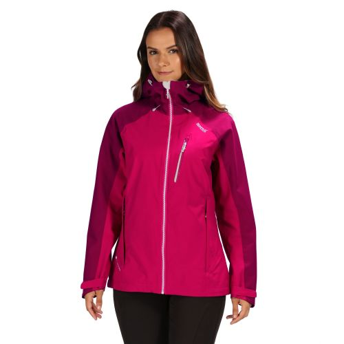 Women's Birchdale Waterproof Jacket Dark Cerise Beetroot